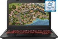 """Игровой ноутбук ASUS TUF Gaming FX504GE-E4246 (Intel Core i7-8750H 2.2Ghz/15.6""""/1920х1080/8GB/1TB HDD + 256GB SSD/NVIDIA GeForce GTX1050Ti/DVD нет/Wi-Fi/Bluetooth/Без ОС)"""
