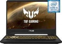 """Игровой ноутбук ASUS TUF Gaming FX505GD-BQ224 (Intel Core i5-8300H 2.3Ghz/15.6""""/1920х1080/8GB/1TB HDD + 256GB SSD/NVIDIA GeForce GTX1050/DVD нет/Wi-Fi/Bluetooth/Без ОС)"""