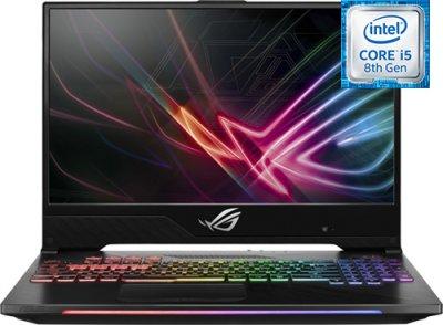 """ASUS ROG Strix Hero II GL504GM-BN328T (Intel Core i5-8300H 2.3Ghz/15.6""""/19201080/8GB/1TB HDD + 256GB SSD/NVIDIA GeForce GTX1060/DVD /Wi-Fi/Bluetooth/Win 10)"""
