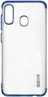 Чехол InterStep Decor для Galaxy A40 Blue (HDC-SAGAA40K-NP1108O-K100) фото