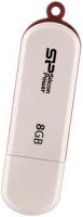 SILICON POWER LUXMINI 320 8GB  WHITE (SP008GBUF2320V1W)