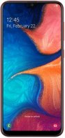 Смартфон Samsung Galaxy A20 (2019) 32GB Red (SM-A205FN)