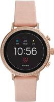 Купить Смарт-часы Fossil, Gen 4 Venture HR Blush Leather (FTW6015)