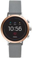 Купить Смарт-часы Fossil, Gen 4 Venture HR Gray Silicone (FTW6016)