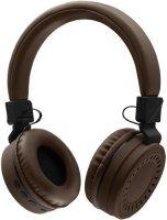 Беспроводные наушники с микрофоном Rombica MySound BH-11 Brown (BT-H018)