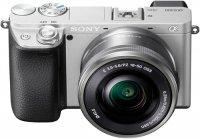 Системный фотоаппарат Sony A6400 + SEL-P1650 Silver (ILCE-6400L/S)