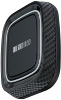 Универсальный автомобильный держатель InterStep 3М Black/Carbon (IS-HD-MGNT004BS-000B210)