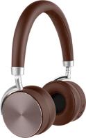 Беспроводные наушники с микрофоном Rombica Mysound BH-12 Brown (BT-H016)