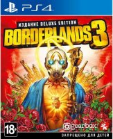 Игра для PS4 Take Two Borderlands 3. Deluxe Edition