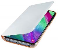 Купить Чехол Samsung, Wallet Cover для A40 White (EF-WA405PWEGRU)