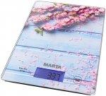 Кухонные весы Marta MT-1633 Весенние цветы