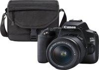Зеркальный фотоаппарат Canon EOS 250D Black 18-55 + SB130