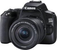 Зеркальный фотоаппарат Canon EOS 250D Black 18-55 S CP