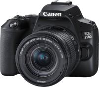 CANON EOS 250D BLACK 18-55 S CP