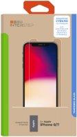 Защитное стекло InterStep глянцевое 0,3 мм для iPhone SE 2020/8/7 (IS-TG-IPHON8UNI-UA3B202)
