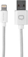 Кабель Qumo MFI С48 USB-Apple 8 pin, 1,2 м White (30020) qumo lightning usb mfi rose gold кабель 1 м