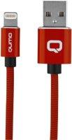Кабель Qumo MFI С48 USB-Apple 8 pin, 1,2 м Red (30021)
