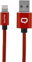 Кабель Qumo MFI С48 USB-Apple 8 pin, 1,2 м Red (30021) qumo lightning usb mfi rose gold кабель 1 м