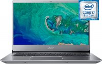 "Ноутбук Acer Swift 3 SF314-56-72YS (NX.H4CER.002) (Intel Core i7-8565U 1.8GHz/14""/1920х1080/8GB/256GB SSD/Intel UHD Graphics 620/DVD нет/Wi-Fi/Bluetooth/Win 10 Home)"