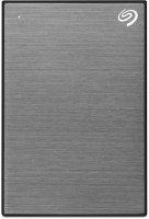 Внешний жесткий диск Seagate Backup Plus Slim 1TB Space Gray (STHN1000405)