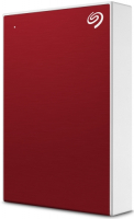 внешний жесткий диск SEAGATE BACKUP PLUS PORTABLE 4TB RED (STHP4000403)