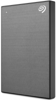 внешний жесткий диск SEAGATE BACKUP PLUS SLIM 2TB SPACE GRAY (STHN2000406)