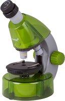Микроскоп Levenhuk LabZZ MV1 Lime + книга (73707)