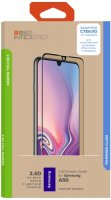 Защитное стекло InterStep FSC для Samsung Galaxy A50 Black (IS-TG-SAMA50FSB-UA3B202)