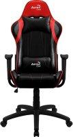 Игровое кресло Aerocool AC100 AIR All Black/Red