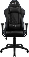 Игровое кресло Aerocool AC110 AIR Black/Blue