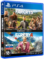 Игра для PS4 Ubisoft Far Cry 4 + Far Cry 5 cry wolf