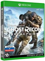 Игра для Xbox One Ubisoft TC Ghost Recon Breakpoint