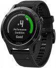 Смарт-часы Garmin Fenix 5 Sapphire Black GPS (010-01688-11)
