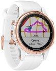 Смарт-часы Garmin Fenix 5S Plus Sapphire White (010-01987-07)
