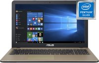 "Ноутбук ASUS R540MB-GQ090T (Intel Pentium Silver N5000 1.1GHz/15.6""/1366х768/4GB/500GB/NVIDIA GeForce MX110/DVD нет/Wi-Fi/Bluetooth/Win10 Home)"