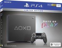 Игровая приставка Sony Sony PlayStation 4 1TB Days of Play. Limited Edition (CUH-2208B)
