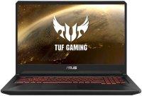 "Игровой ноутбук ASUS TUF Gaming FX705DY-AU048T (AMD Ryzen 5 3550H 2.1GHz/17.3""/1920х1080/6GB/1TB+128GB SSD/AMD Radeon RX 560X/DVD нет/Wi-Fi/Bluetooth/Win10)"