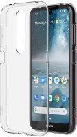 Чехол Nokia Clear Case для 4.2, прозрачный (CC-142)
