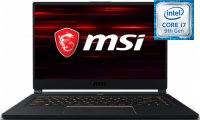 "Игровой ноутбук MSI GS65 Stealth 9SG-641RU (Intel Core i7-9750H 2.6GHz/15.6""/1920х1080/32GB/2TB SSD/NVIDIA GeForce RTX 2080/DVD нет/Wi-Fi/Bluetooth/Win10 Home)"