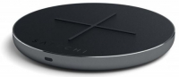 SATECHI ALUMINUM TYPE-C PD #AND# QC WIRELESS CHARGER SPACE GRAY (ST-IWCBM)
