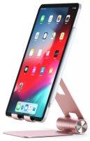 Подставка для планшета Satechi Aluminum Hinge Holder Foldable Stand Rose Gold (ST-R1R)