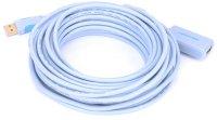 Активный кабель-удлинитель Vention USB 2.0 AM/AF с усилителем, 5 м (VAS-C01-S500)