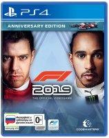 Игра для PS4 Codemasters F1 2019 Юбилейное издание
