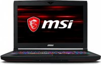 "Игровой ноутбук MSI GT63 Titan 9SG-054RU (Intel Core i9-9880H 2.3GHz/15.6""/3840х2160/32GB/1TB HDD + 512GB SSD/nVidia GeForce RTX 2080/DVD нет/Wi-Fi/Bluetooth/Win 10)"