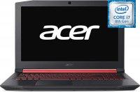 """Игровой ноутбук Acer Nitro 5 AN515-52-7052 (NH.Q3XER.013) (Intel Core i7-8750H 2.2GHz/15.6""""/1920х1080/8GB/1TB HDD/nVidia GeForce GTX1060/DVD нет/Wi-Fi/Bluetooth/Linux)"""