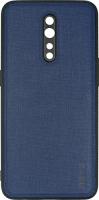 Чехол InterStep TEX для Oppo Reno Z Dark Blue (HTX-OPPRENZK-NP1108T-K100) фото