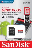 SANDISK MICROSDHC ULTRA PLUS 32GB UHS-I (SDSQUB3-032G-GN6MA)