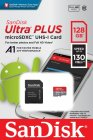 Карта памяти SDHC Micro SanDisk microSDHC Ultra Plus 128GB UHS-I (SDSQUB3-128G-GN6MA)