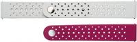 Купить Ремешок Samsung, Braloba Active Rubber для Galaxy Watch Active/Watch 42мм Pink/Gray (GP-XVR500BRBPW)