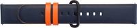 Купить Ремешок Samsung, Braloba Active Leather Dress для Galaxy Watch Active/Watch 42мм Blue/Black (GP-XVR500BRDBW)